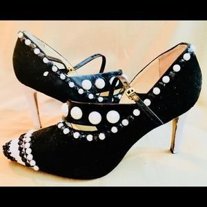 Reiss pumps embellished